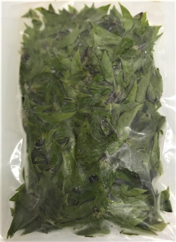冷凍ガパオ、冷凍ホーリーバジル、最近人気のガパオライス、タイ料理に使用される
