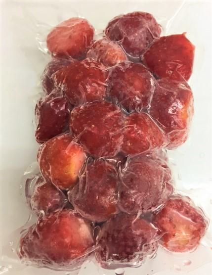 勇気、オーガニック冷凍フルーツ